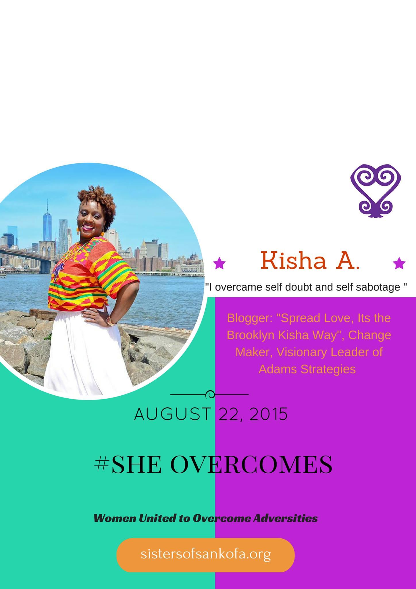#SheOvercomes