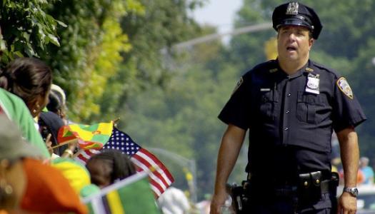 Policing the Parade